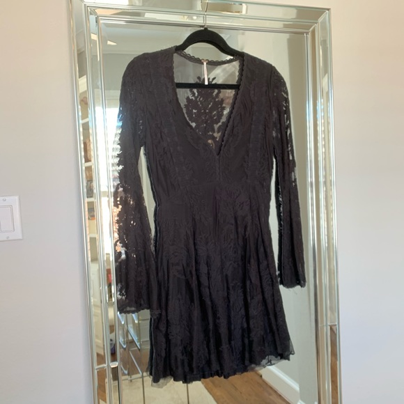 Free People Dresses & Skirts - Free People Reign Over Me Lace Dress